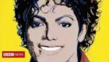 Поставив Майкла Джексона на стене