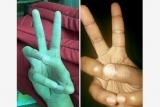 Фокус Clean пальцев было невозможно