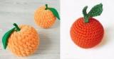 Вязание овощей и фруктов: фото с описанием